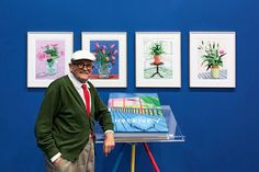 """nice David Hockney Releases a Monumental 500-Page """"Visual Autobiography"""""""