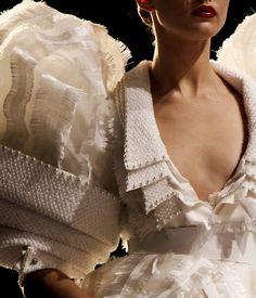 Sculptural Fashion Drama - quadruple sleeve & collar detail; 3D costume fashion; multiplicity in design; wearable art // Viktor & Rolf