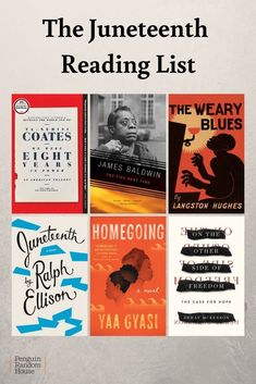 Juneteenth commemorates the day the last enslaved people were emancipated in the United States on June 19 1865 Celebrate with fiction and nonfiction by African American authors African American Authors, American Literature, American History, African Americans, American Women, Native American, Best Books To Read, Good Books, Ya Books