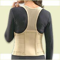 Cincher Women's Posture Back Brace Support Belt - Tan - Medium:Amazon:Everything Else