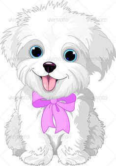 White lap-dog  #GraphicRiver         Cute white lap-dog puppy posing with pink ribbon     Created: 28June12 GraphicsFilesIncluded: JPGImage #VectorEPS Layered: No MinimumAdobeCSVersion: CS Tags: Havanese #LapDog #animal #canine #cartoon #character #clipart #clip-art #cute #dog #domesticanimals #fun #illustration #isolated #lap-dog #mammal #pet #pets #pink #puppy #ribbon #sitting #small #smiling #stuffedanimal #vector #white