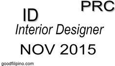 November 2015 Interior Designer PRC Board Exam Results Board Exam Result, Exam Results, November 2015, Announcement, Boards, Interior Design, Math, Planks, Nest Design
