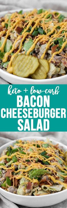 keto Bacon Cheeseburger Salad!!! - 22 Recipe