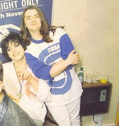Richey Edwards and Sean Moore
