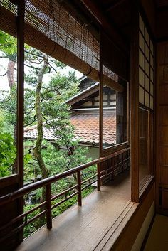 Nomura Samurai House in Kanazawa, Japan - known for it's small but lovely garden - photo by Bernard Languillier, via Flickr