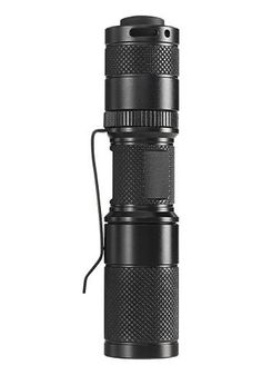 4even/Foursevens Quark Tactical. I love this flashlight, possible the best for edc.