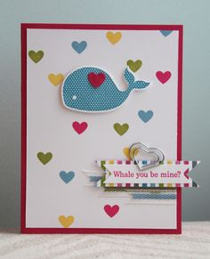 Stampin' Up! Artisan Design Team - April - Oh, Whale - Amy Bollman