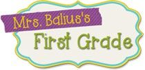 Mrs Balius's First Grade Class: Come and visit!