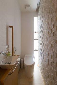 トイレ 内装 戸建 縦長窓 - Google 検索