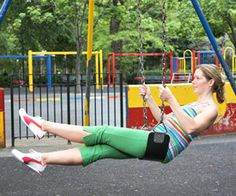 Full Body Playground Workout - Another Great Reason to Take Your Kids to the Playground!