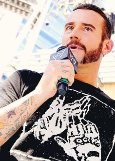 CM PUNK has some nice skin there