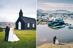 Overseas Pre-Wedding Photography at the glacial lagoon in Iceland!