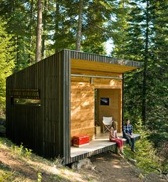 Build a cabin off the grid