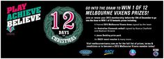 If you join or renew your Melbourne Vixens membership for the 2013 season by 12 December you will go into the running to win 1 of 12 Melbourne Vixens prizes. The first giveaway is a framed 2013 Melbourne Vixens dress signed by the team!! #netball