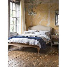 Buy John Lewis Etienne Low End Sleigh Bedstead, Double Online at johnlewis.com
