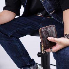 Men's Vintage Short Wallet – karrytown Mens Travel Wallet, Men's Vintage, Vintage Shorts, Groomsman Gifts, Minimalist Fashion, Groomsmen, Special Occasion, Collection, Style