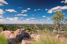 """Charters Towers, QLD, Australia: """"Towers Hill Lookout"""", Photo by Tracey Harrison-Hill via Flickr.Romantic dinner with my man."""