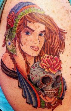 My gypsy angel Gypsy, Princess Zelda, Angel, Fictional Characters, Tattoos, Angels, Tat, Fantasy Characters, Tattoo