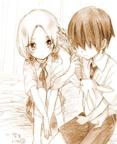 Assassination Classroom (暗殺教室) - Ryuunosuke Chiba & Rinka Hayami -「【千速】暗殺詰め合わせ2【80p】」/「Aya」の漫画 [pixiv]