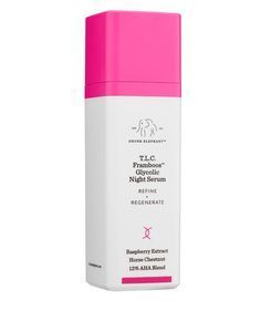 Drunk Elephant T.L.C. Framboos Glycolic Night Serum | As a beauty editor, I get sent a lot of free products to review (tough job, I know). But there are some gems I've found over the years that are worth every penny—even if that means spending my own money on them. I asked my fellow Time Inc. (Real Simple's parent company) beauty editors to share their most beloved beauty products and why they're so great.