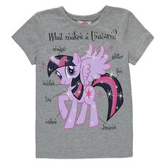 Girls My Little Pony Unicorn T Shirt