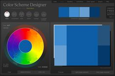 Finally! Found it back! Color Scheme Designer 3 - Google Chrome_2012-09-13_11-20-50.  This blog has the link to this designer (no pinnable images on that page).