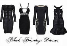 Ebony Vintage: Bandage Dresses - Udobuy Design