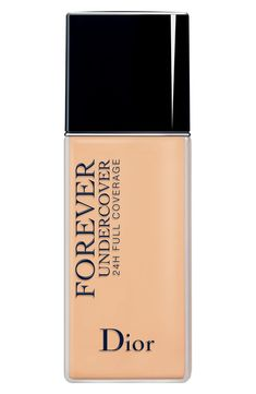 Dior Diorskin Forever Undercover 24-Hour Full Coverage Water-Based Foundation, new for spring 2018 (affiliate link)