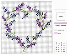 Embroidery love heart needlework 49 Ideas for 2019 Cross Stitch Needles, Cross Stitch Heart, Beaded Cross Stitch, Cross Stitch Flowers, Cross Stitch Embroidery, Embroidery Patterns, Hand Embroidery, Cross Stitch Designs, Cross Stitch Patterns