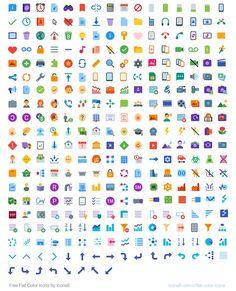 Icons8 es un pack compuesto por 312 iconos gratuitos en formato SVG. Todos los gráficos de la colección pueden usarse en proyectos personales y comerciales.