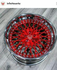 Infinitewerks made to order custom wheels. Rims For Cars, Rims And Tires, Wheels And Tires, Car Rims, Mustang Wheels, Ford Mustang Car, Ford Mustangs, Bbs Wheels, Truck Wheels