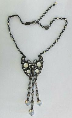 Konplott Collier mit weißen Steinen Chain, Beauty, Jewelry, Fashion, Necklaces, Jewellery Making, Moda, Jewerly, Jewelery