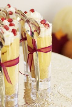 Great idea for dessert at a dinner party