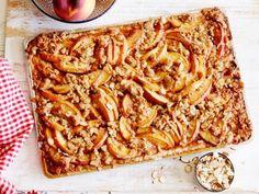 Peach Streusel Slab Pie Recipe   Food Network Kitchen   Food Network