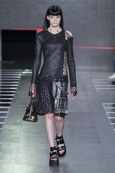 Louis Vuitton Is Taking a Punk Turn for Spring via @WhoWhatWear