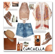 """Pack and Go - Coachella"" by mood-chic ❤ liked on Polyvore featuring Theodora & Callum, Zara, Sam Edelman, J.Crew, Hawaiian Tropic, Sothys, Balmain, Urban Decay, LØMO and packforcoachella"