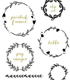 Wreath Leaf Clipart #1