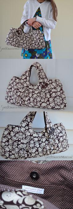 The Charming Handbag (pattern by ithinksew.com)