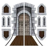 Draw Castle Wall Design