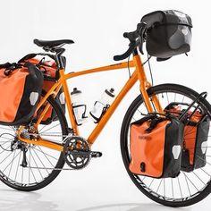 Adventure weapon mate for Touring Bicycles, Touring Bike, Mtb, Cargo Bike, Bike Parts, Cycling Bikes, Tandem, Cool Bikes, Bike Packing
