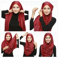 5 easy Steps For A Beautiful Hijab Tutorial