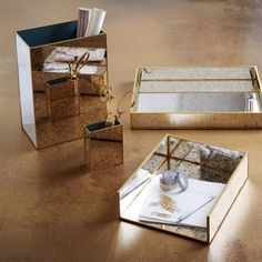 Foxed Mirror Office Accessories
