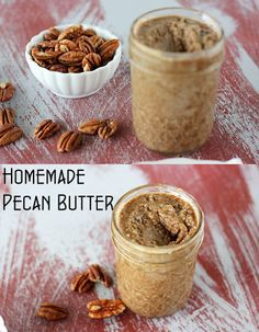 Homemade Pecan Butter by raylynntexas, via Flickr
