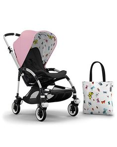 Andy+Warhol+Bee+3+Butterflies+Tailored+Fabric+Set+by+Bugaboo+at+Neiman+Marcus.
