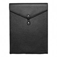 coach leather laptop sleeve