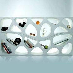 Organically Tilting Furniture Voronoi inspired!! #marc newson inspired