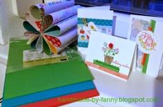 Handmade by Fanny Up, Triangle, Blog, Material, Gift Wrapping, Handmade, Gifts, Paper, Die Cutting