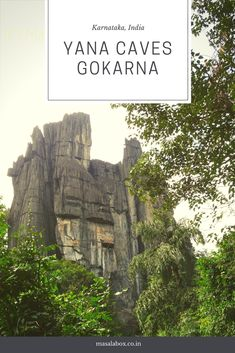 A little away from Gokarna is the Yana caves. Two black monolithic rocks jutting out of dense jungle.. A short hike takes to this splendid sight..   #Yana #Gokarna #Kumta #Karnataka #India