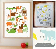 Two New Animal Posters: Petite Collage and Ink and Wit