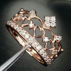 ¡Mira estos hermosos diseños de anillos!